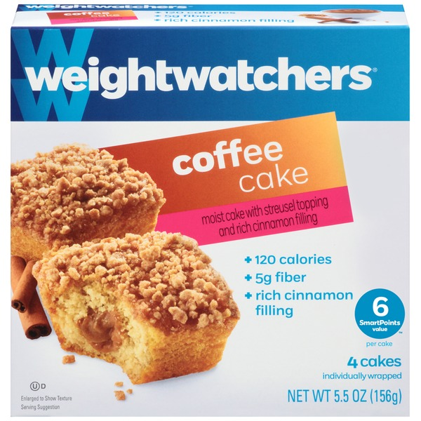 Weight Watchers Sweet Baked Goods Coffee Cake