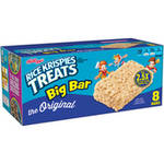 Kellogg's Rice Krispies Treats The Original Big Bar Crispy Marshmallow Squares