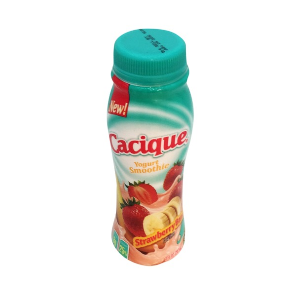 Cacique Strawberry Banana Yogurt Smoothie