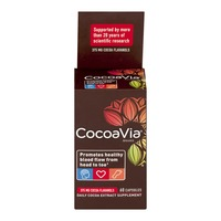 CocoaVia Brand Daily Cocoa Extract Supplement Capsules - 60 CT