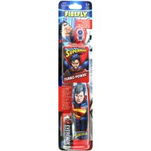 Firefly Superman Turbo Power Toothbrush, Soft
