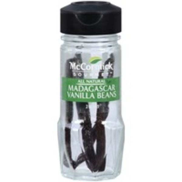 McCormick Gourmet Collection All Natural Madagascar Vanilla Beans