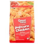 Great Value Breaded Popcorn Chicken, 25.5 oz