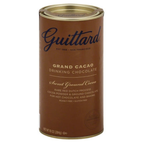 Guittard Grand Cacao Drinking Chocolate Sweet Ground Cocoa