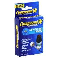 Compound With Wart Remover Liquid