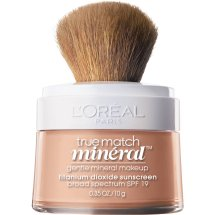 L'Oreal Paris True Match Mineral Foundation, Natural Ivory, 0.35 oz