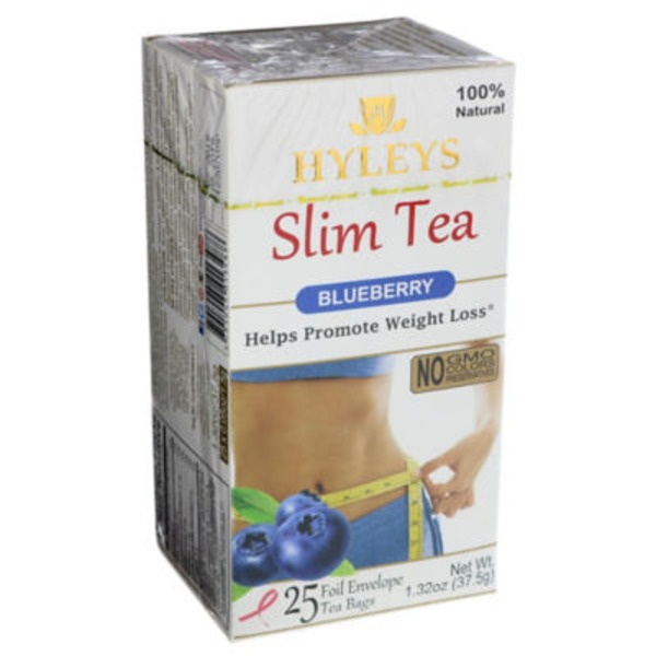 Hyleys Tea Blueberry Slim Tea Bags