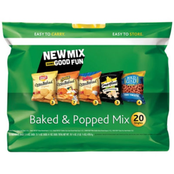 Frito Lays Baked & Popped Mix Snacks