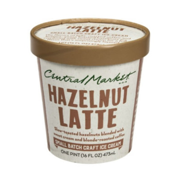 Central Market Hazelnut Latte Ice Cream