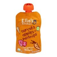 Ella's Kitchen Organic 4 Months Carrots Apples + Parsnips