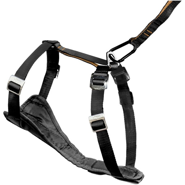 Kurgo Kur Medium Harness Tru Fit Black