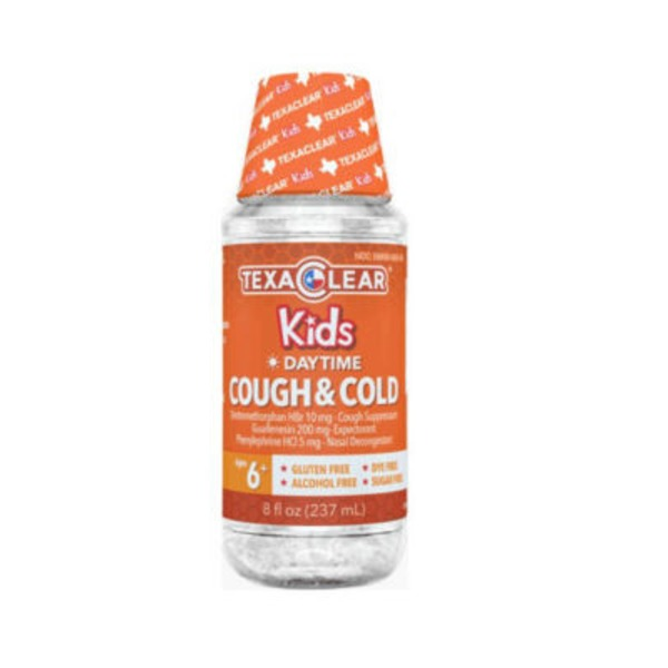 Texa Clear Kids Daytime Cough & Cold