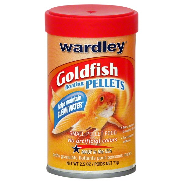 Wardley Goldfish Floating Pellets Small Pellet Food