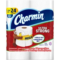 Charmin Ultra Strong Bathroom Tissue, Mega Rolls