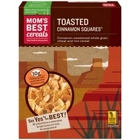 Mom's Best Cereals Naturals Toasted Cinnamon Squares Cereal