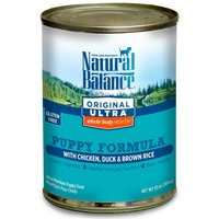 Natural Balance Original Ultra Chicken Duck & Brown Rice Canned Puppy Food
