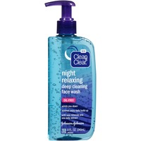 Clean & Clear® Night Relaxing Face Wash Posted 2/6/2014 Cleansers