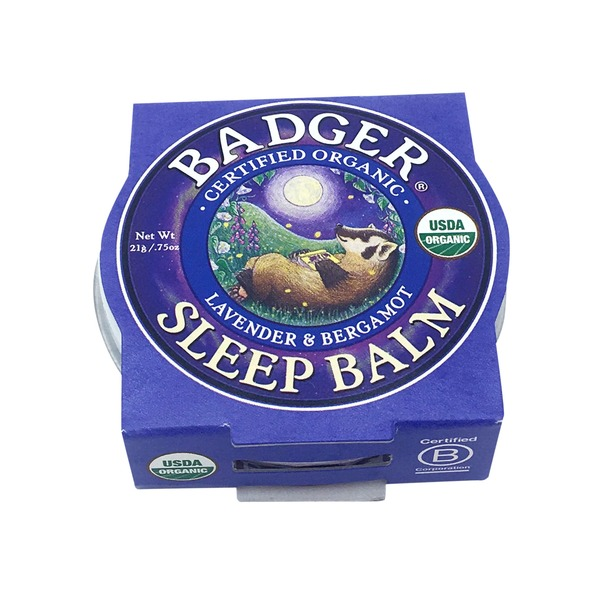Badger Certified Organic Lavender & Bergamot Sleep Balm
