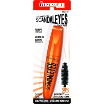 Rimmel London Volume Flash Scandal Eyes Mascara, Black [001] 0.41 oz