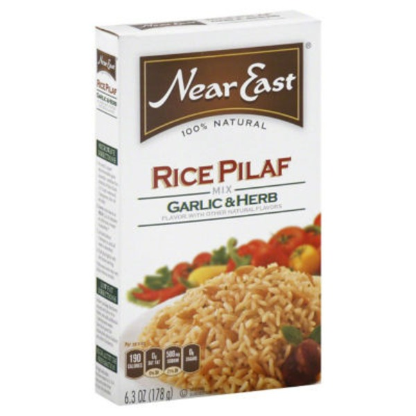 Near East Garlic & Herb Rice Pilaf Mix