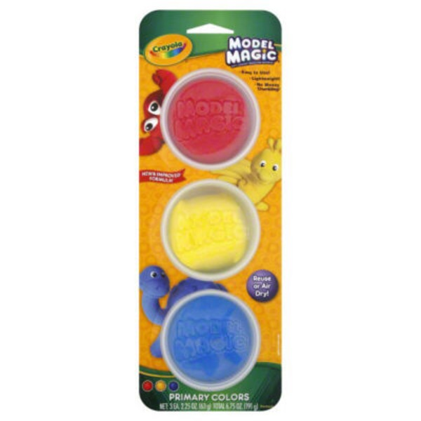 Crayola Primary Colors Model Magic Tubs