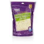 Great Value Finely Shredded Mozzarella Cheese, 16 oz