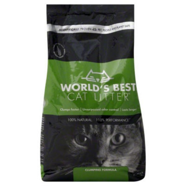 World's Best Cat Litter Clumping Formula Cat Litter