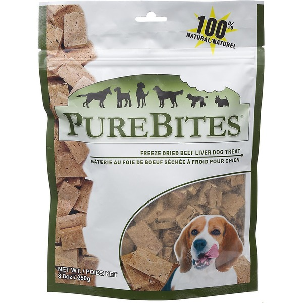 Pure Bites Natural Freeze Dried Beef Liver Dog Treats