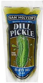 Large dill pickle
