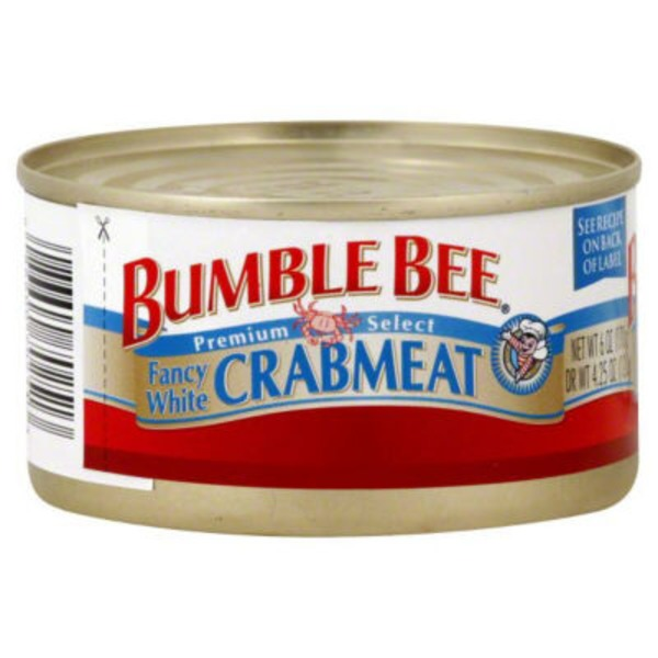Bumble Bee Wild Fancy White Crabmeat