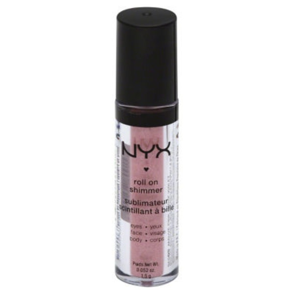 NYX Mauve Pink Roll On Shimmer