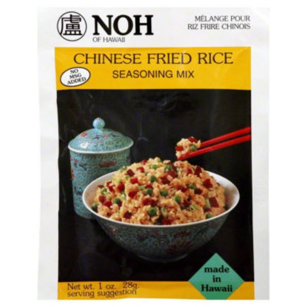 NOH Foods of Hawaii Chinese Fried Rice Seasoning Mix