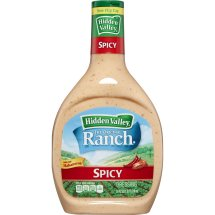 Hidden Valley Original Ranch Dressing, Spicy, 24 Ounces