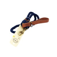 Bond & Co 4' Rope Lead Navy