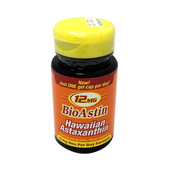 Nutrex Hawaii BioAstin Hawaiian Astaxanthin 12 mg Gel Capsules