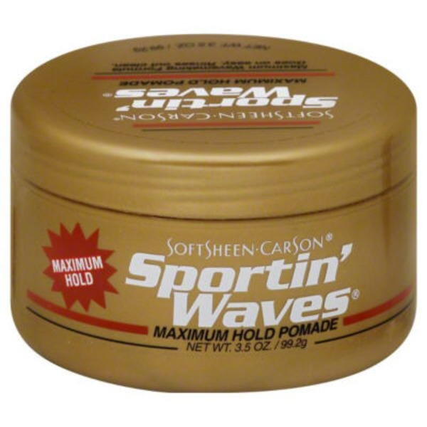 Sportin' Waves For All Hair Types Maximum Hold Gel Pomade