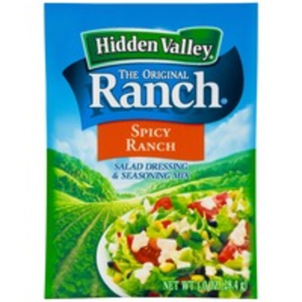 Hidden Valley Spicy Ranch Salad Dressing & Seasoning Mix