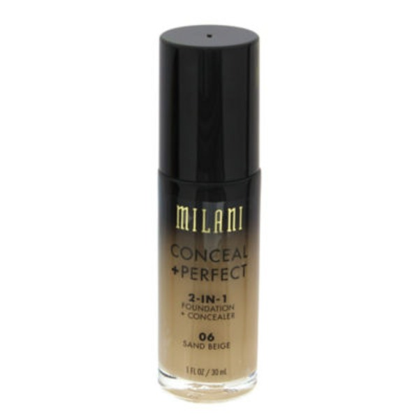 Milani Conceal + Perfect 2-in-1 Foundation + Concealer 06 Sand Beige