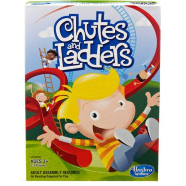 Hasbro Chutes & Ladders Game
