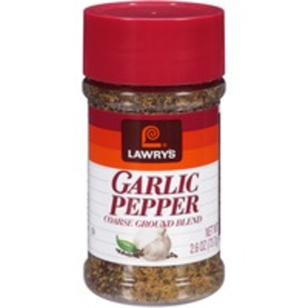Spice & Seasoning Coarse Ground Blend Garlic Pepper