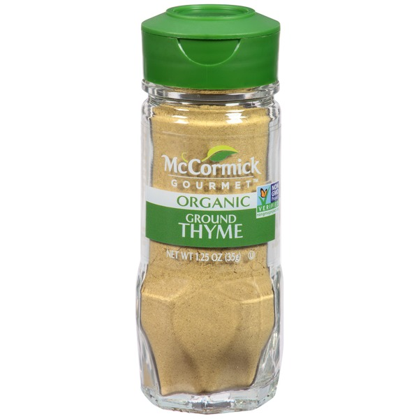 McCormick Gourmet Collection Ground Thyme Spice