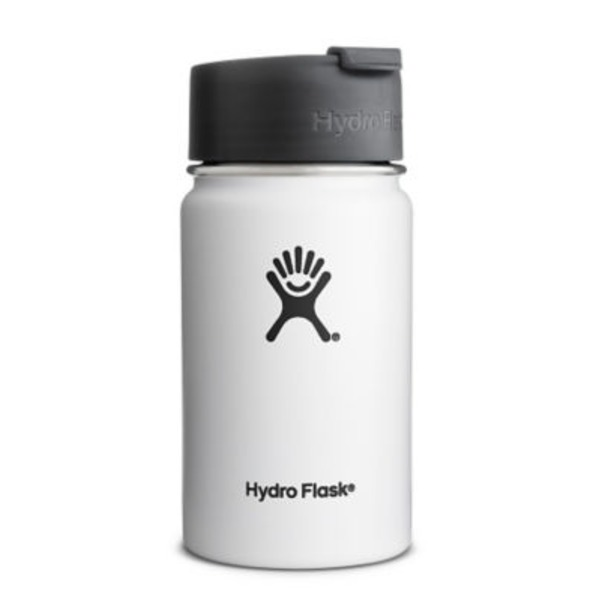 Hydro Flask Arctic White 12 Oz Wide Mouth Bottle