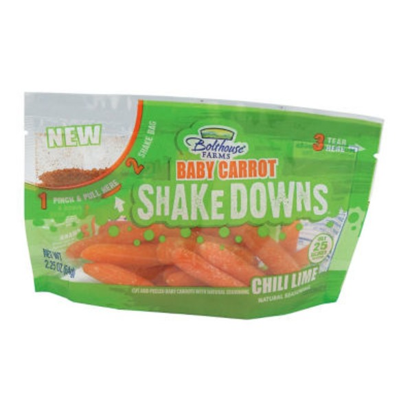 Bolthouse Farms Shakedowns Chili Lime Baby Carrots