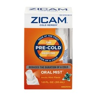 Zicam Cold Remedy The Pre-Cold Medicine Oral Mist Arctic Mint Flavor