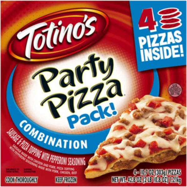 Totino's Combination Party Pizzas