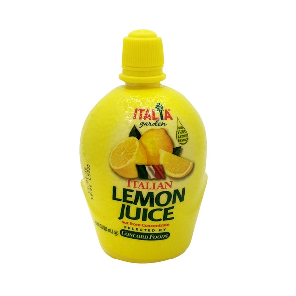 Italia Garden Italian Lemon Juice Not From Concentrate