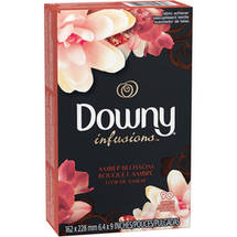 Downy Infusion Amber Blossom Fabric Softener