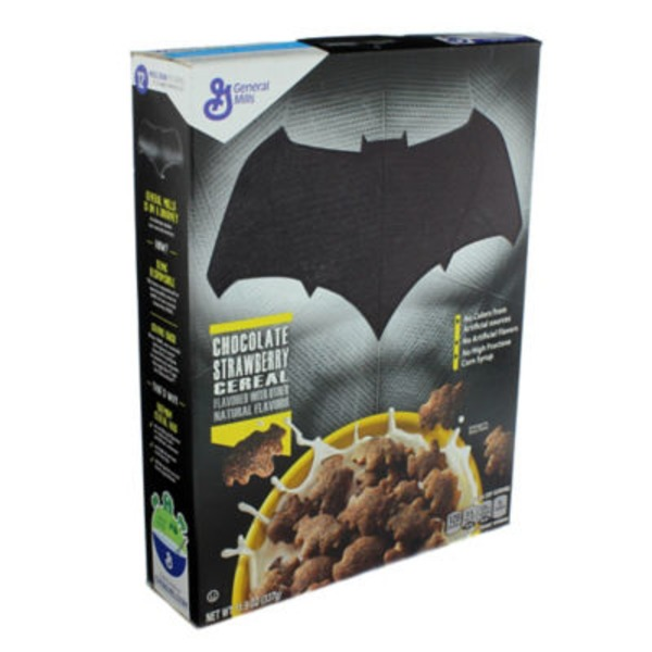 Batman Chocolate Strawberry Cereal