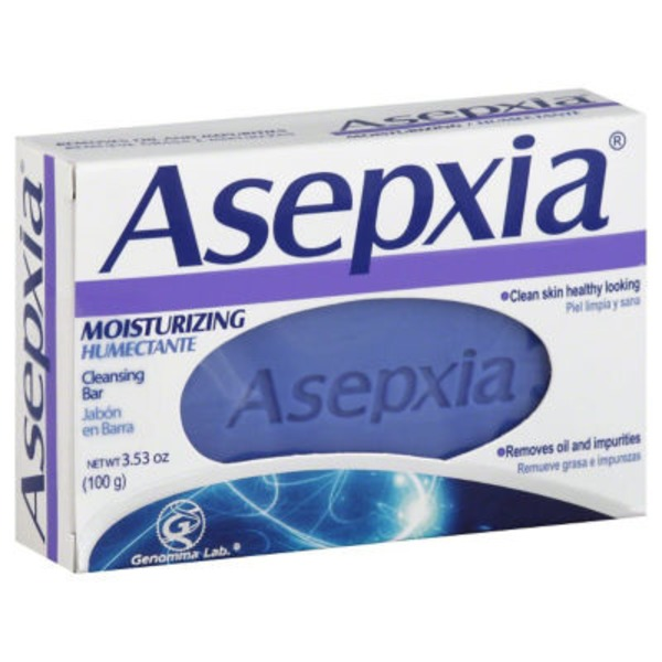 Asepxia Cleansing Bar, Moisturizing, Box