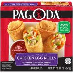 Pagoda® Chicken Egg Rolls 12.27 oz. Box